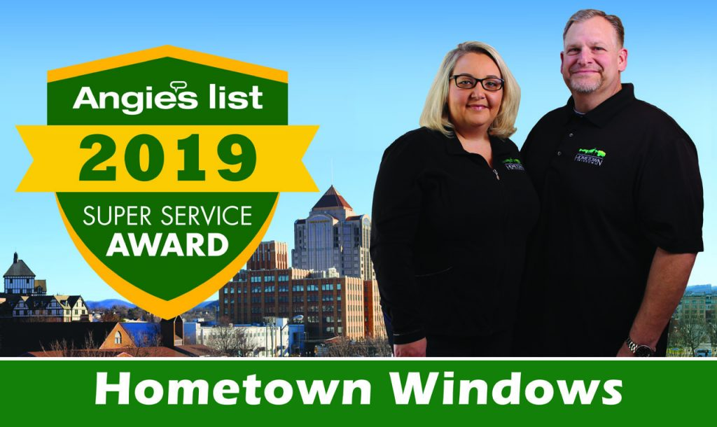 hometown windows wins angies list service award